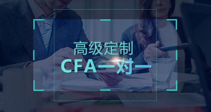 CFA一级1对1高级定制课程(2016年12月)